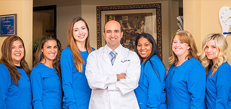 The friendly Sand Lake Dental team