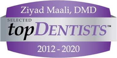 Ziyad Maali, selected top dentists logo 2020
