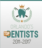 Orlando's Top Dentists 2011 to 2017 logo